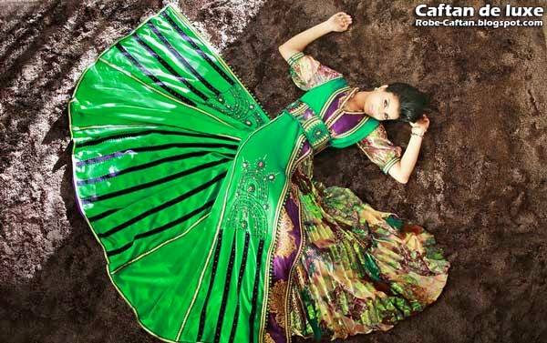 Caftan 2014 prestigieux style indien
