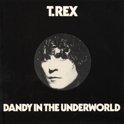 Cover Album of T.Rex - Dandy In The Underworld (Last Album UK 1977)