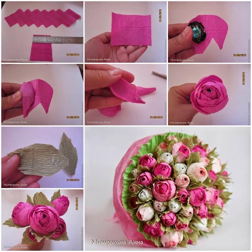 Kreatywne dekoracje creative decoration 26 kwiatowych for Creative tissue paper ideas