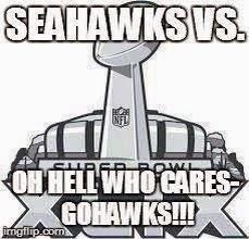 seahawks vs. oh hell who cares. Go Hawks!!!