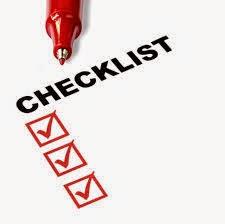 Checklist interview