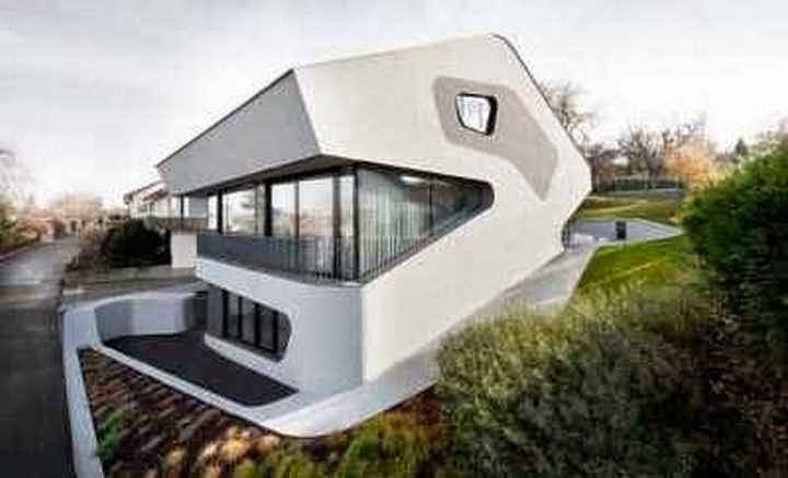 Rumah Minimalis Futuristik Kontemporer