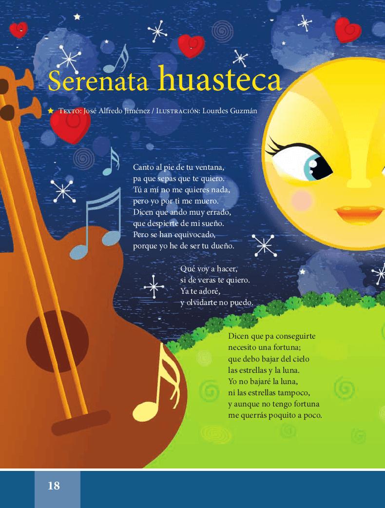 Serenata huasteca - Español Lecturas 5to 2014-2015