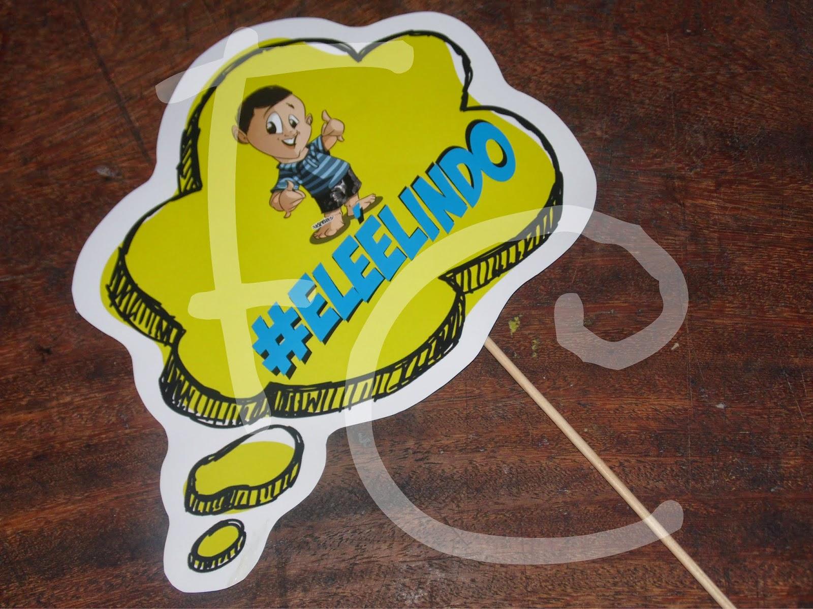 Plaquinhas Divertidas - Balões