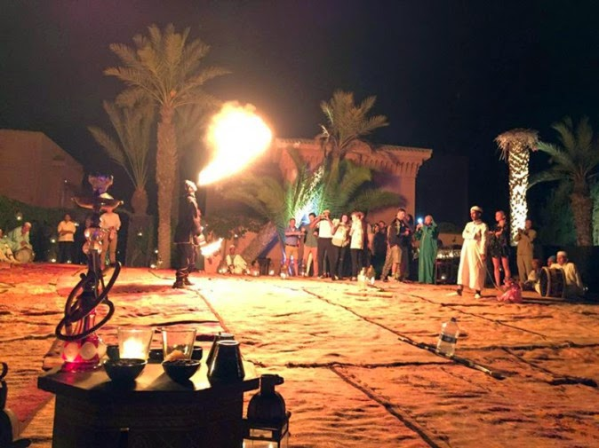 Katy Perry celebrated her 30 birthday in Morocco