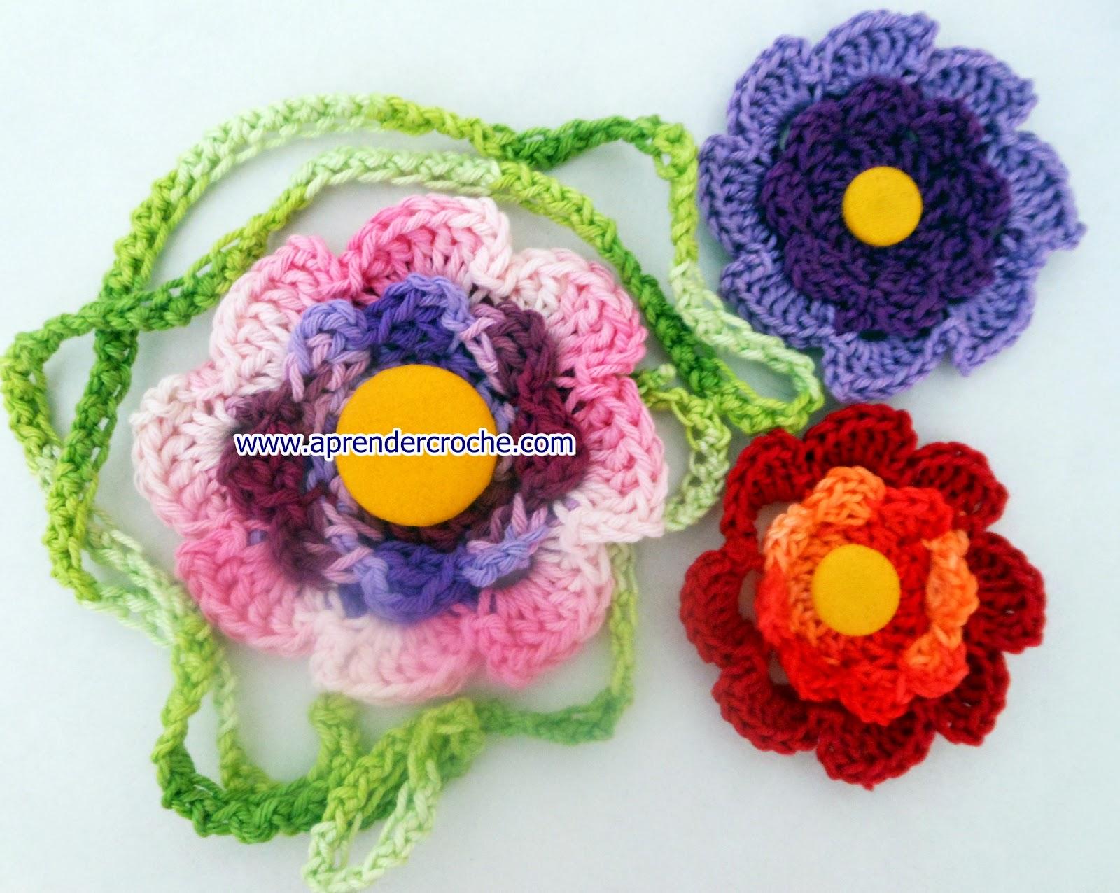 cem flores em croche coleção dvd aprender croche com edinir-croche loja