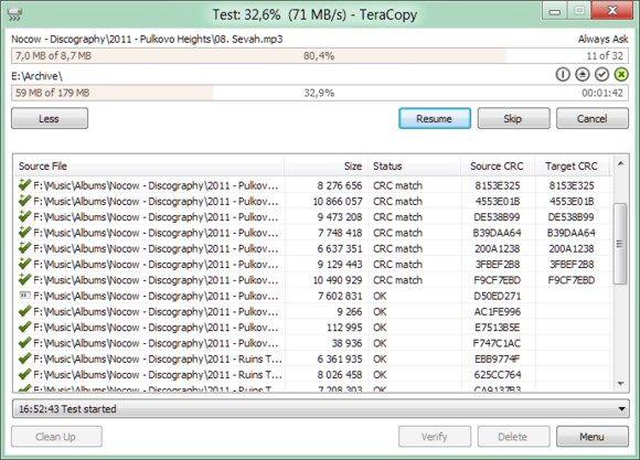 Programa gratuito TeraCopy - 580x417