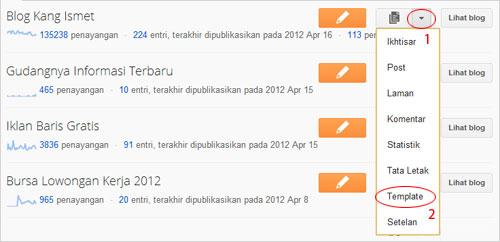 cara backup dan mengganti template blogger versi terbaru