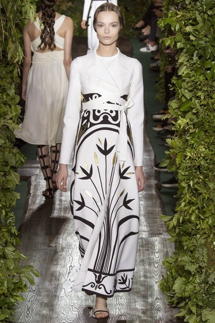 valentino print evening dresses fall winter 2014 2015 collection