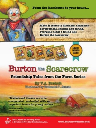 burton the scarecrow fundraising