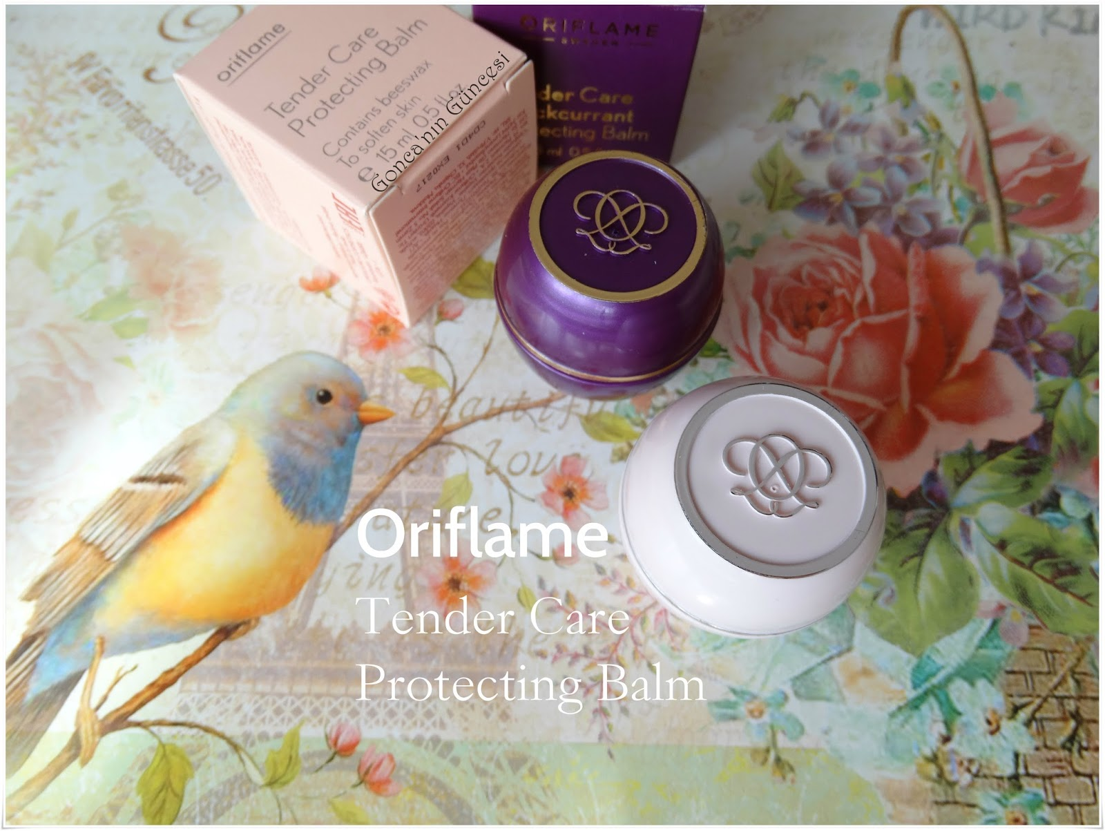 Oriflame Tender Care Protecting Balm Beeswax & Blackcurrant