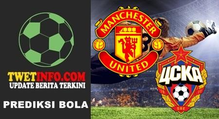 Prediksi Manchester United vs CSKA Moscow