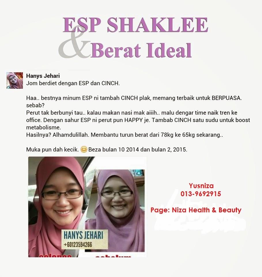 Turunkan Berat Badan Dengan ESP