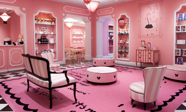 Inside out interiors i 39 m a barbie girl in a barbie for Cute hotel rooms