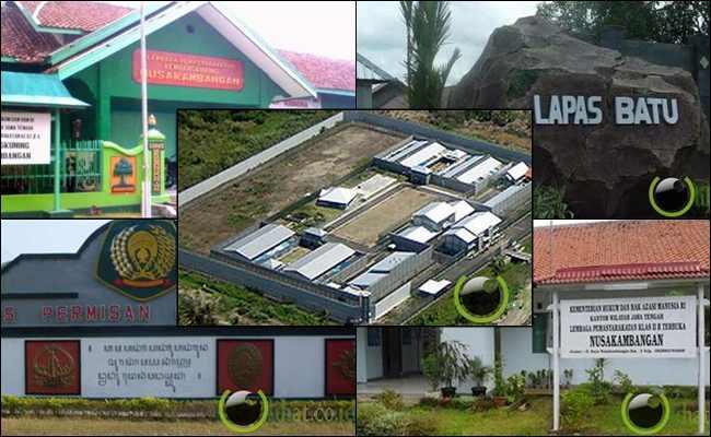 7 Jenis Lapas Aktif yang ada di Nusakambangan