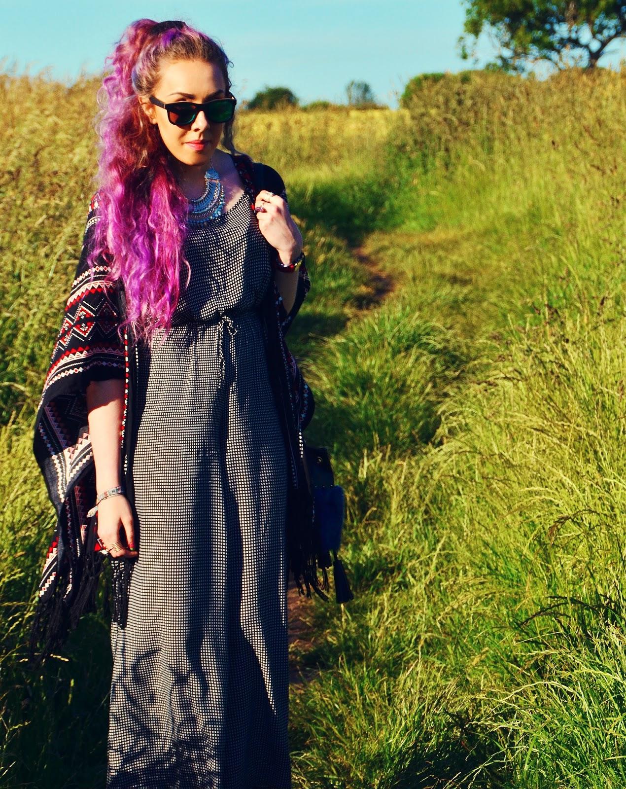 Northern Liverpool Blogger Stephi LaReine pink hair