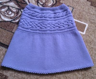 Вязаная детская красивая одежда для девочки 2-3-5 лет