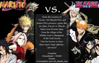 Naruto vs Bleach PC Games