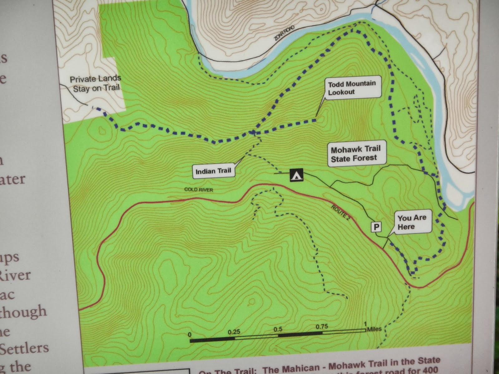 Mahican Mohawk Trail Maps Other Trails in Mohawk Trail State Forest