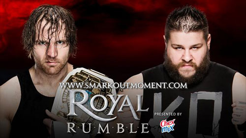 WWE Royal Rumble 2016 Dean Ambrose vs Kevin Owens