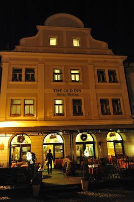 捷克, 克姆洛夫, Krumlov, old inn