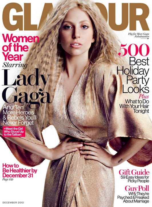 Magazine Love: Lady Gaga is on the Cover of Glamour Magazine and Woman of the YEAR!!!!! I Love Lady GaGa