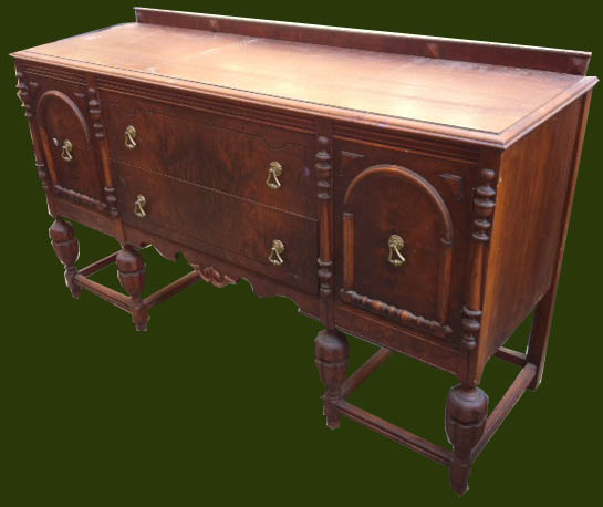 uhuru furniture collectibles 1930s buffet sold. Black Bedroom Furniture Sets. Home Design Ideas