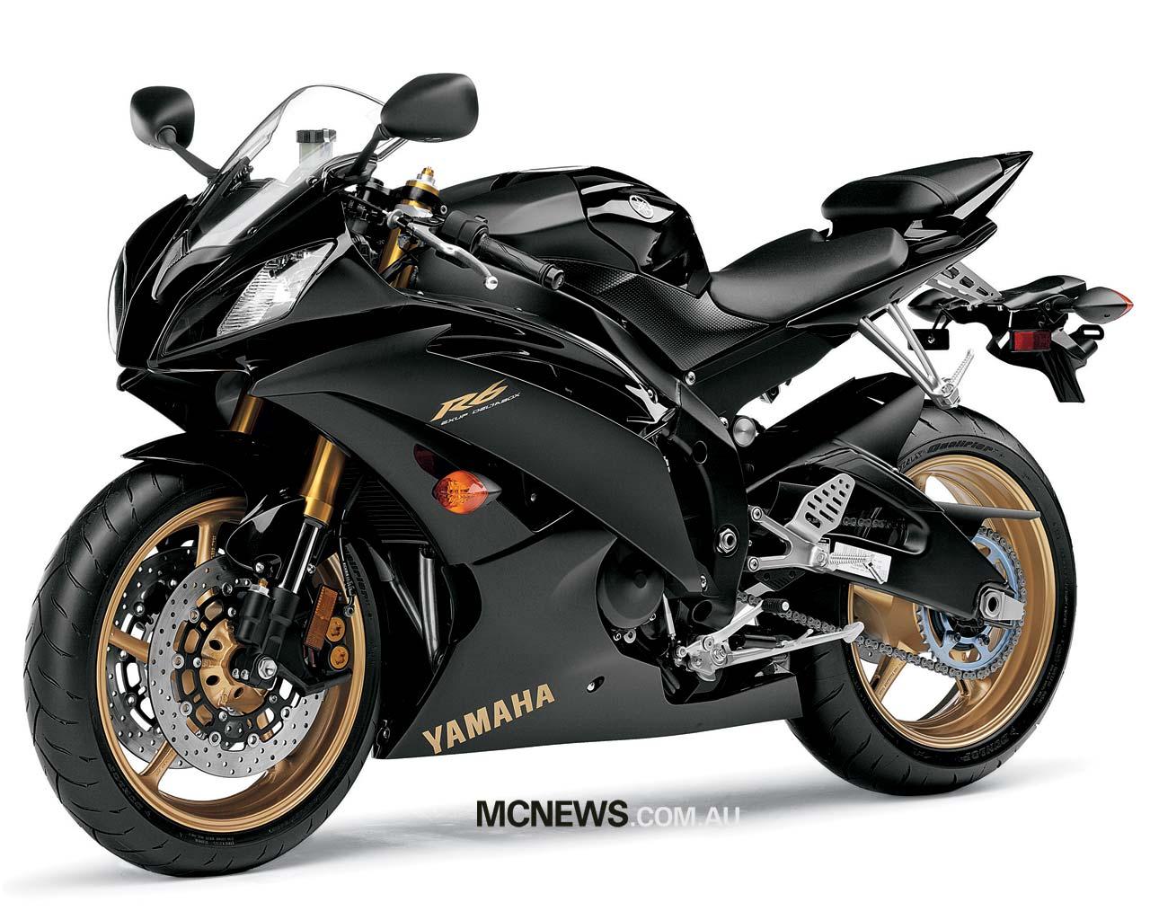 World Bikes Yamaha R6 2009