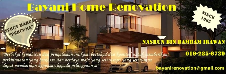 Bayani  Home Renovation