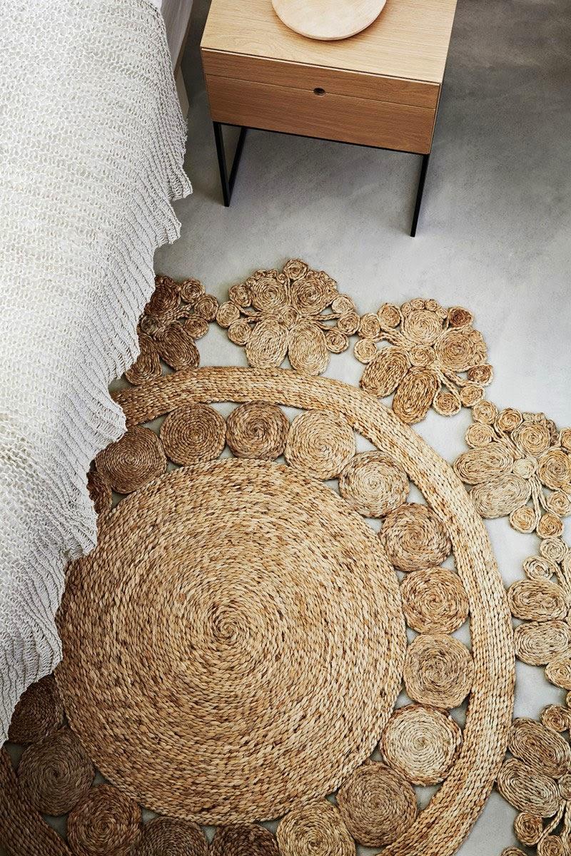 Las artesanas y sostenibles alfombras de c amo de - Alfombras fibras naturales ...