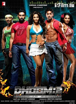 Dhoom 2 2008 poster