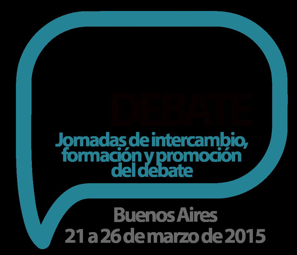 Días de Debate 2015