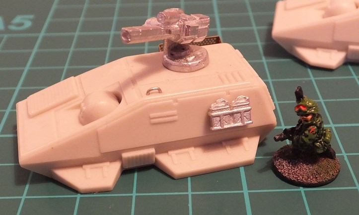 Mini Metal Mayhem Upgrading An Outrider Gzg Mini Turrets And Weapon