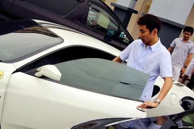 Kereta Ferrari F430 Dato' Lee Chong Wei