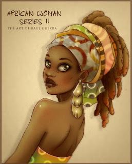 Mujeres Africanas Pintadas Oleo