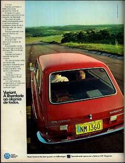 propaganda Variant - 1974. brazilian advertising cars in the 70. os anos 70. história da década de 70; Brazil in the 70s; propaganda carros anos 70; Oswaldo Hernandez;