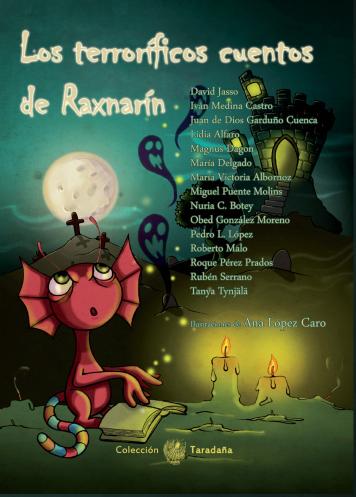 Portada: Los terroríficos cuentos de Raxnarín
