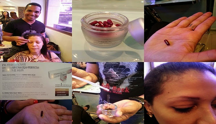 Henna para Cejas de Ybera Professional