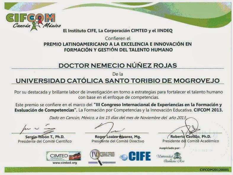 Premio Latinoamericano de investigación