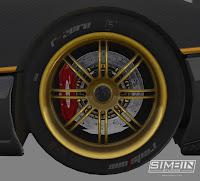 Pagani Zonda R GTR3 renders 5