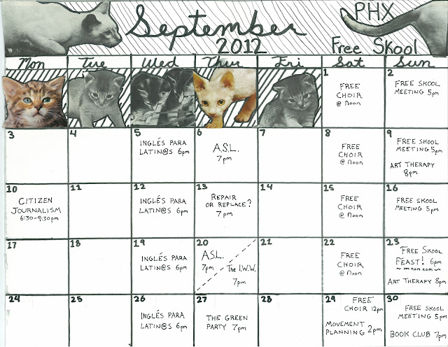 The September Class Calendar is Out Now!
