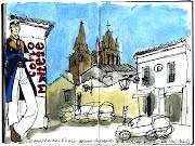 . Almeida em Évora, onde estão alguns dos trabalhos do seu autor.