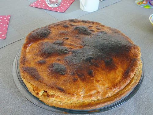 galette frangipane lignac