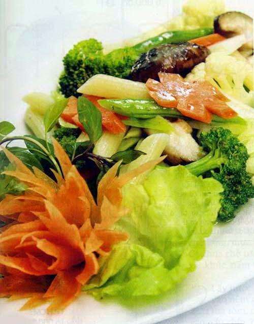 Vietnamese Fried Mixed Vegetable - Thập cẩm xào chay