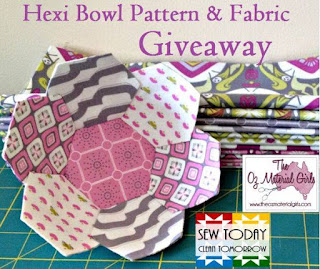 Hexie Bowl Pattern and Giveaway