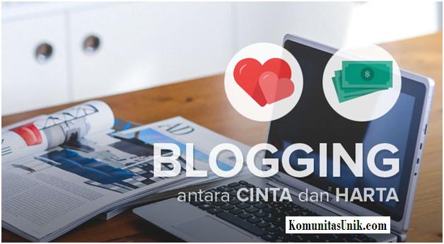 Cinta dan Harta di Blog
