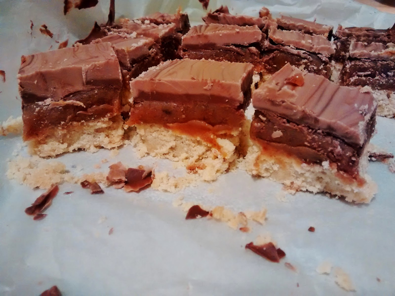 Homemade Millionaires Shortbread recipe