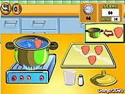nấu ăn đầu bếp, chơi game nấu ăn bạn gái