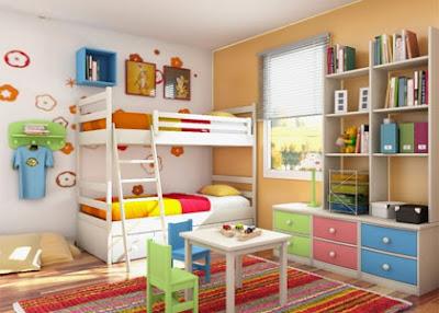 cuarto para niñas hermanas