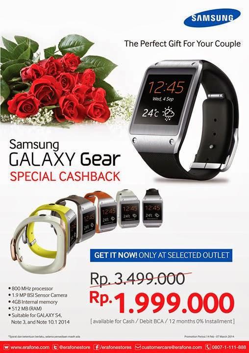 Samsung Galaxy Gear Rp 1.999.000
